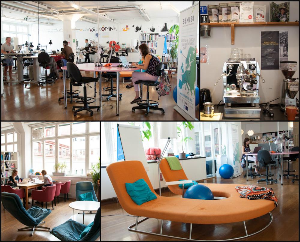 Working at Impact Hub Stockholm