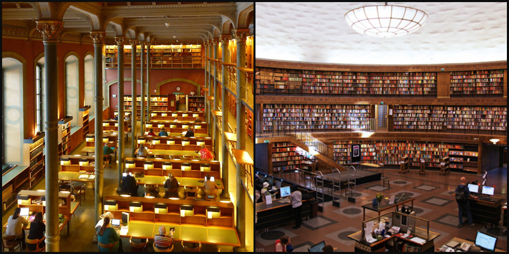 Public Libraries in Stockholm