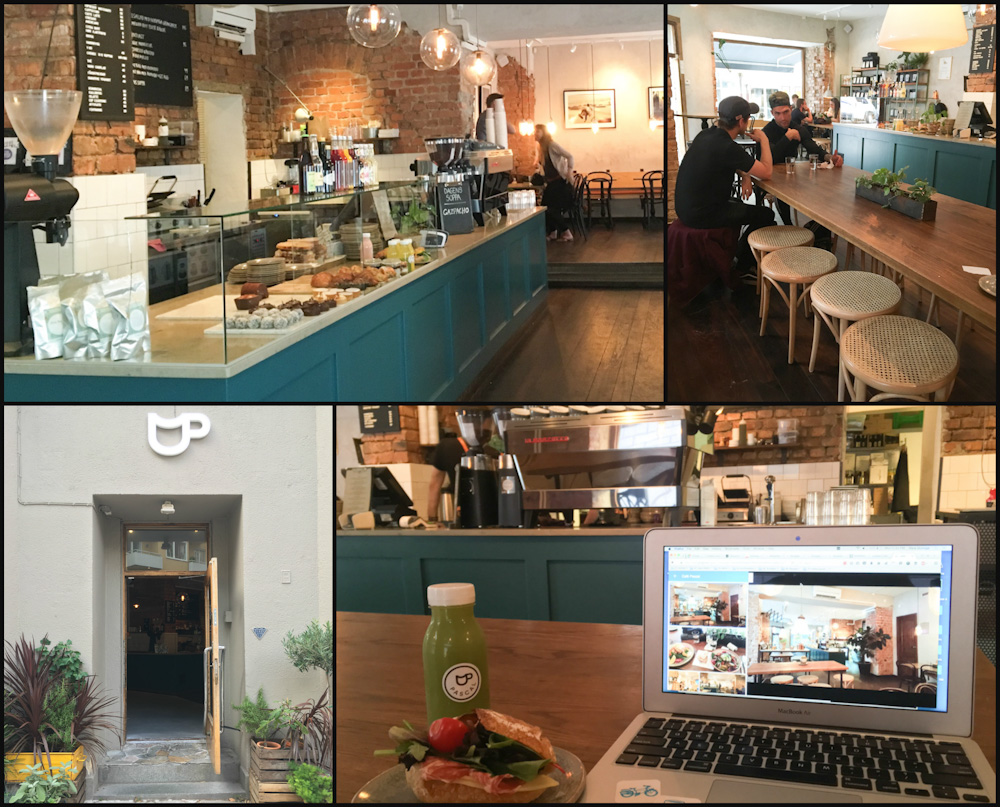 Newly renovated Cafe Pascal in Stockholm