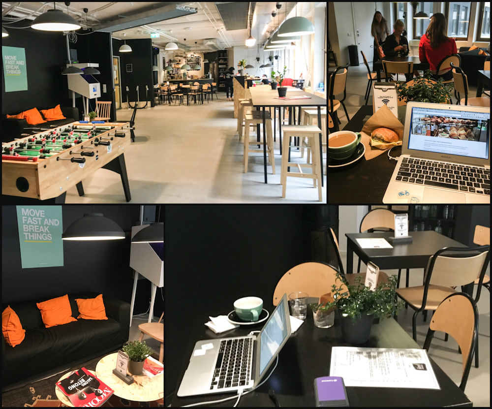 Working at Start-up Cafe by SUP46 in Stockholm