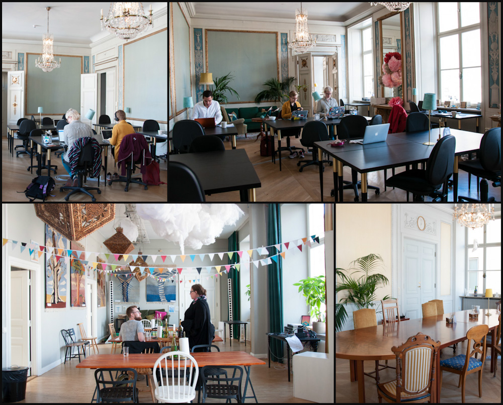 The Castle co-working space in Stockholm