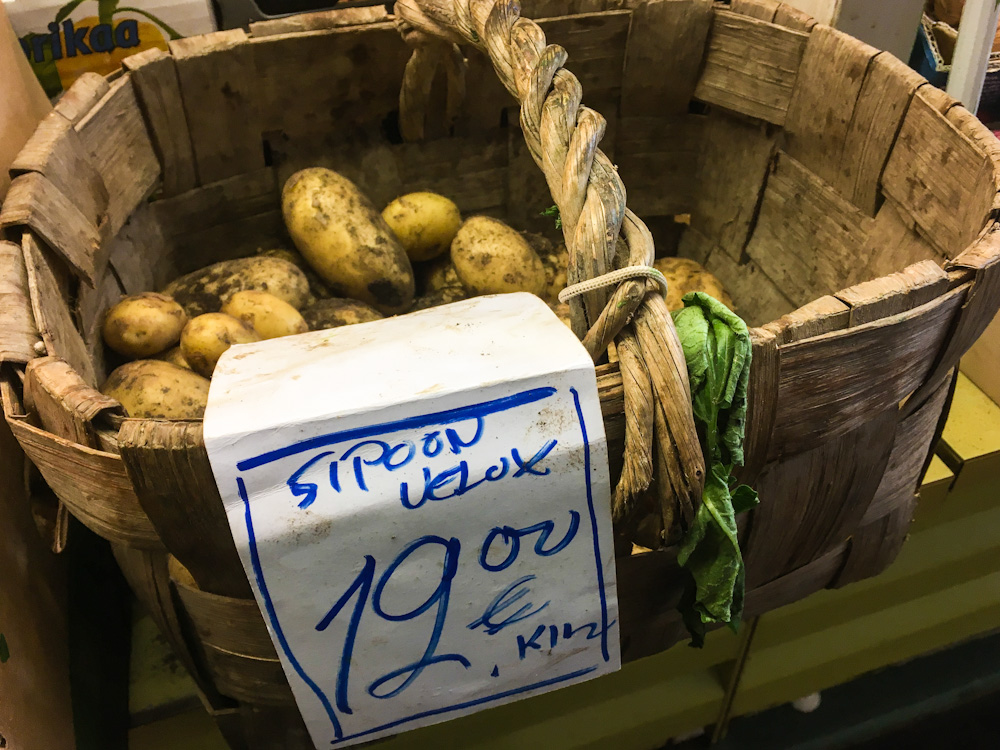 I am NOT paying this much for potatoes!