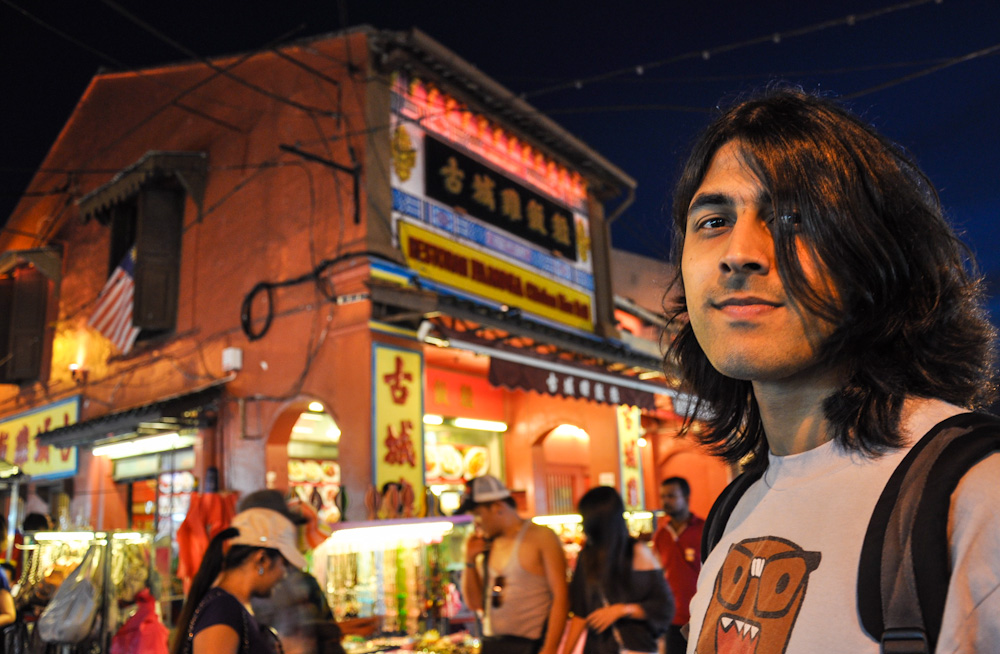Ashray, an Indian traveling in Malaysia