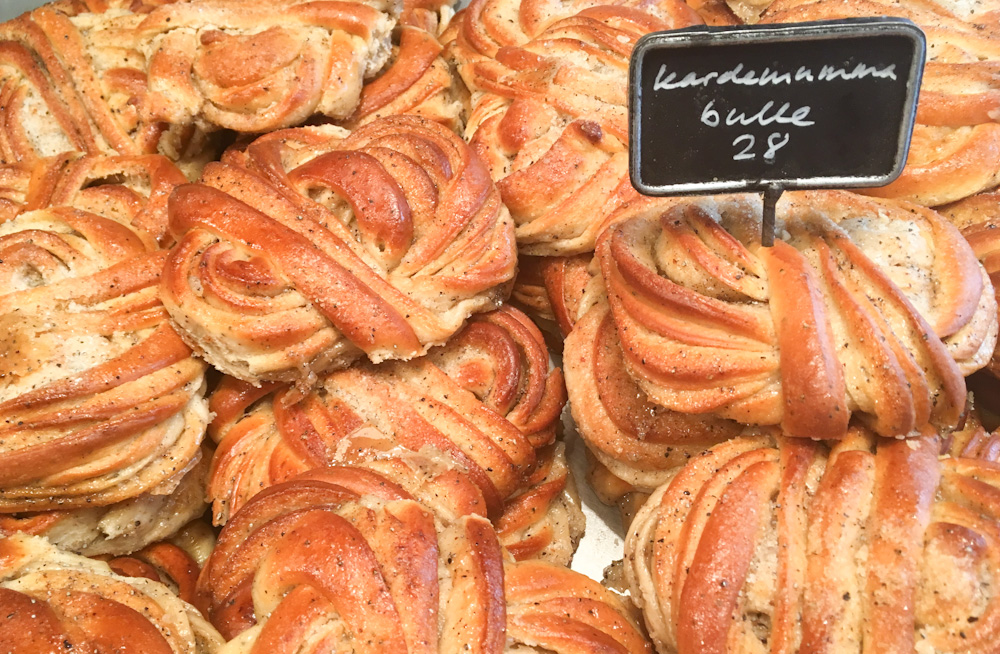 Cardamom buns in Sweden are soft, moist and taste like a cake made of chai. I am in love!