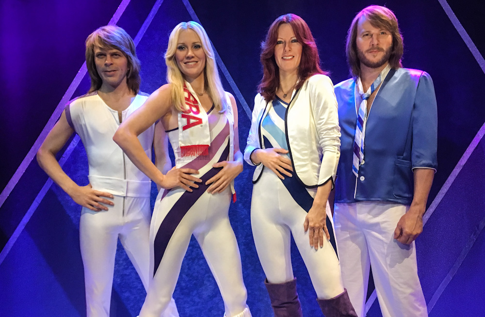 Wax ABBA, at the ABBA Museum in Stockholm