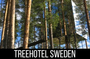 Treehotel Sweden - review of The Mirror Cube and Brittas Pensionat
