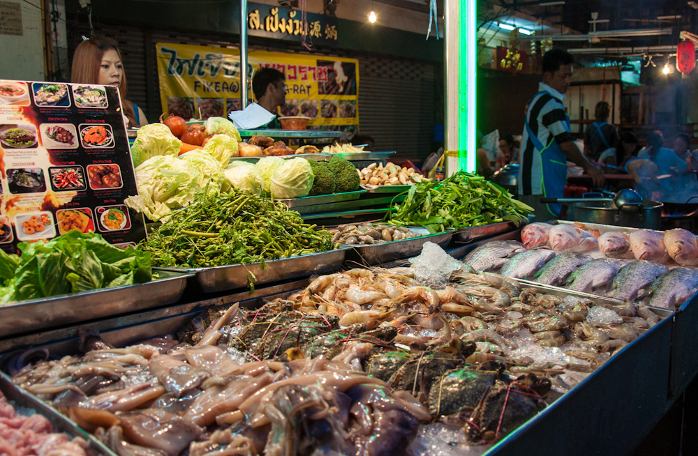 Street food in Bangkok's Chinatown