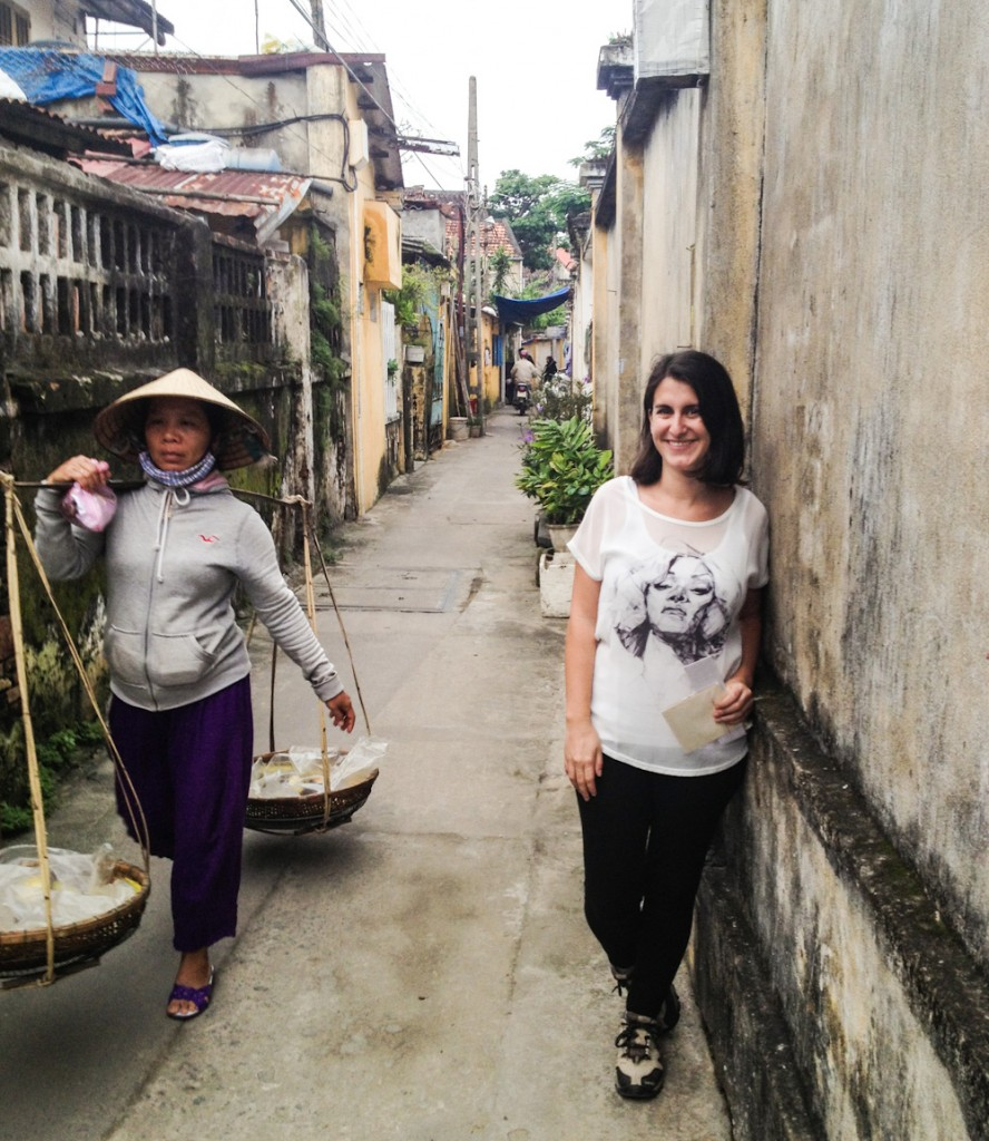 Exploring the narrow lanes of Hoi An, off the beaten path