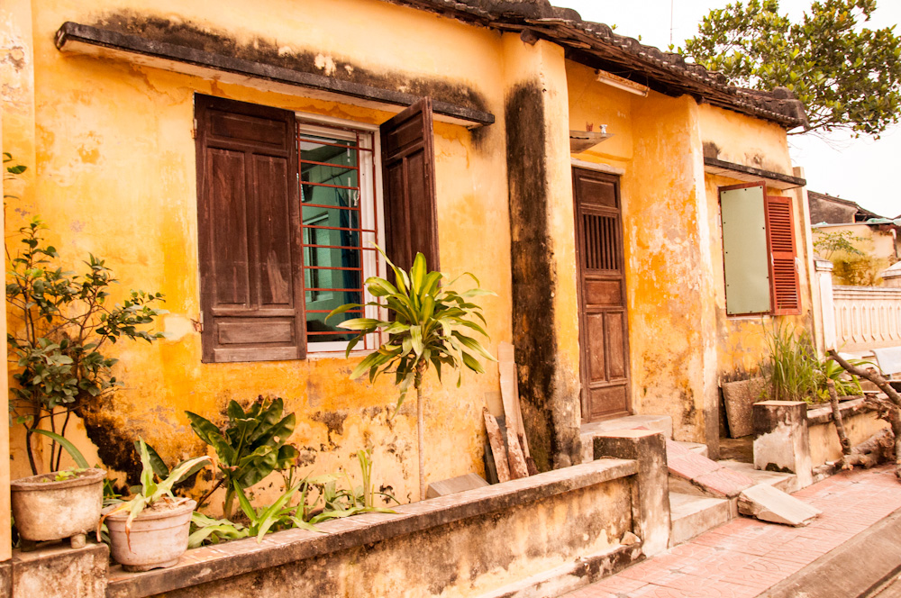 A typical home in Hoi An
