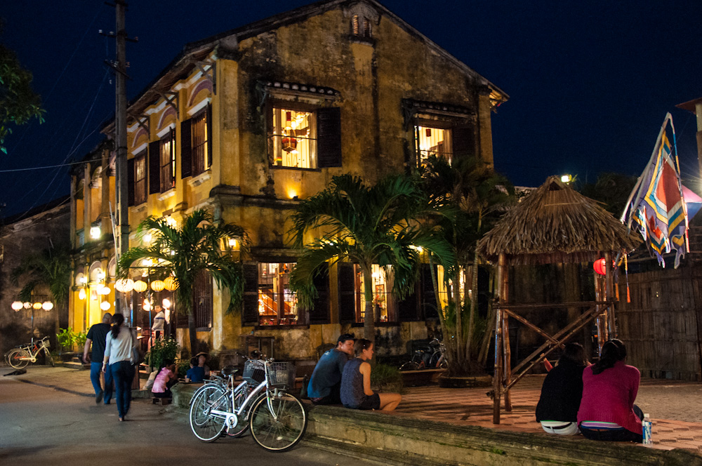 In Hoi An's Old Town, many of the most important buildings now house restaurants and shops