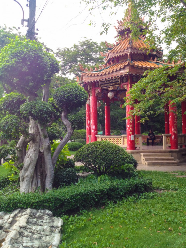 Chinese Pavilion in Lumpini Park