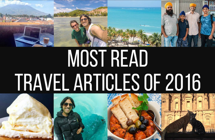 16 Most Read Travel Articles of 2016