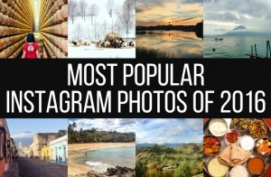 2016 Most popular Instagrams by Backpack ME