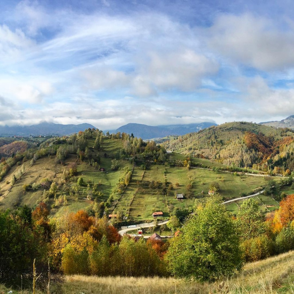 Road-tripping in the Carpathian Mountains of Romania