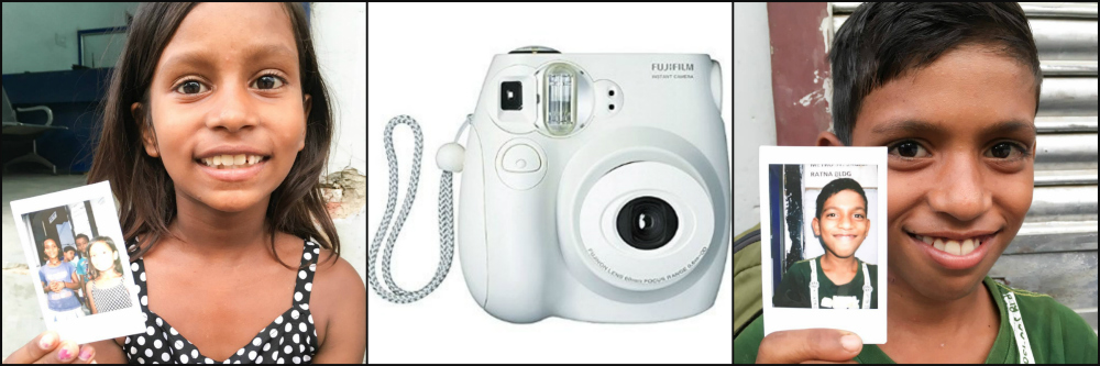 Photos and smiles with the Fujifilm Instax in India