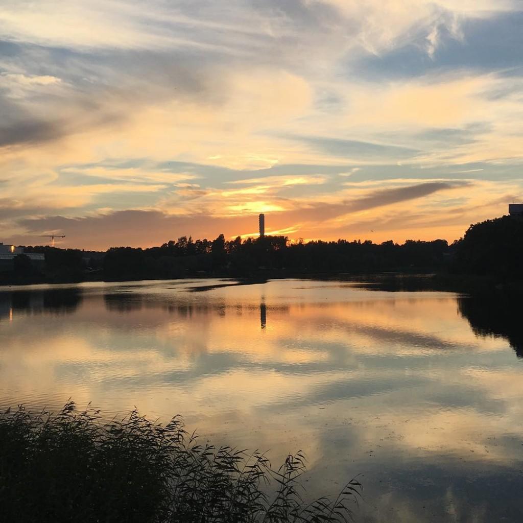 Midnight Sun in Helsinki