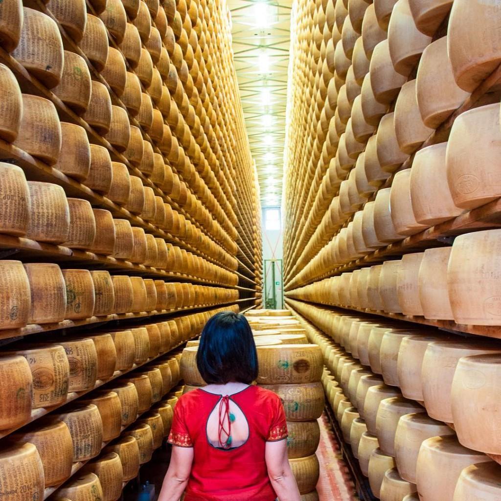 Inside a Parmigiano Reggiano Factory in Italy