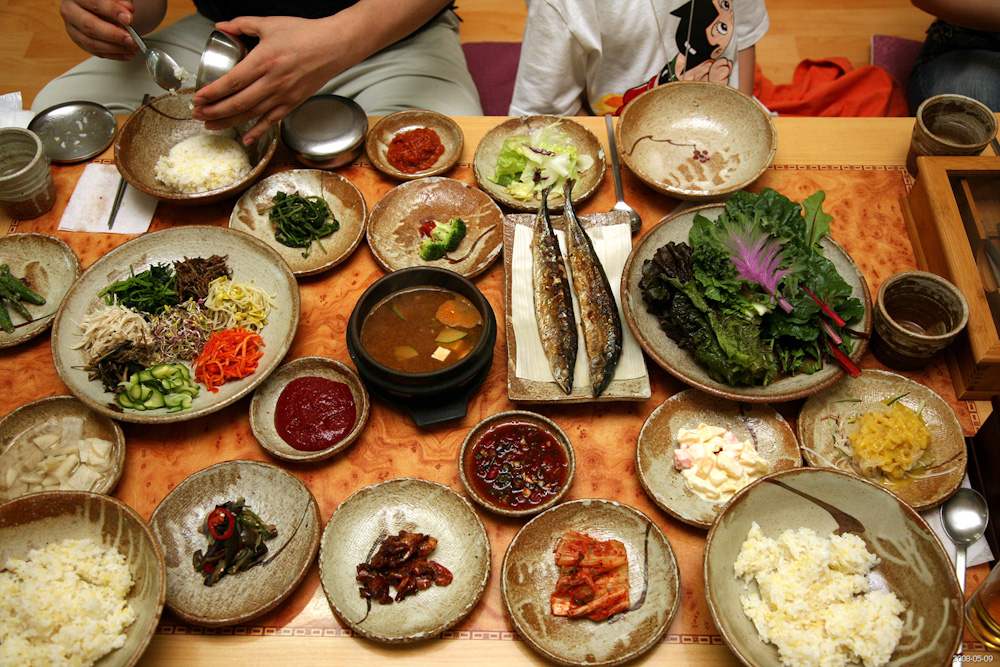 Korean food. Photo by Jinho Jung: http://bit.ly/2gV94UG