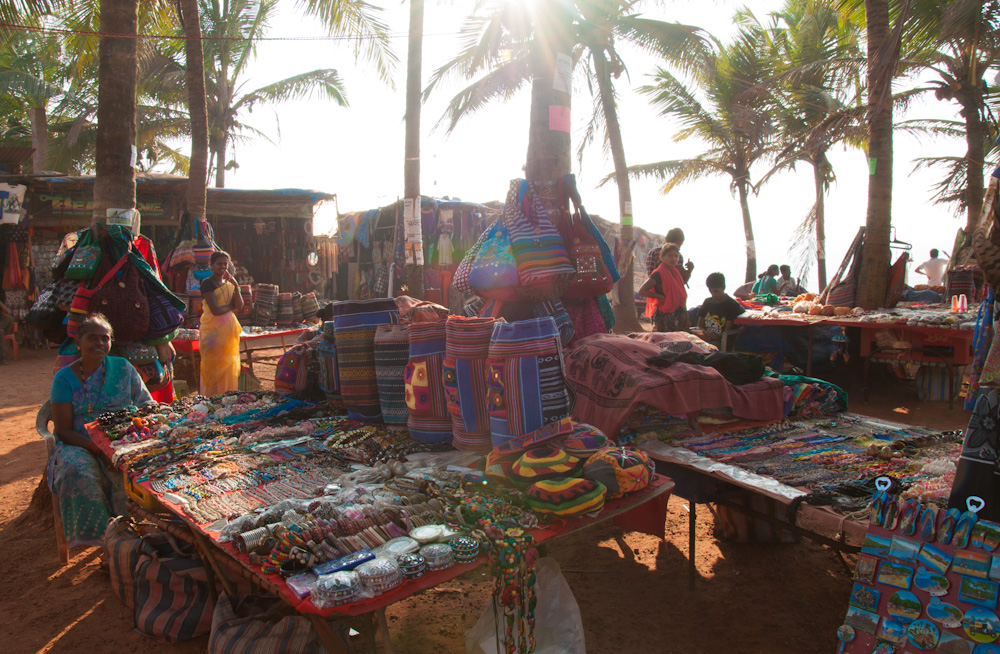 Anjuna Flea Market - be ready to bargain!