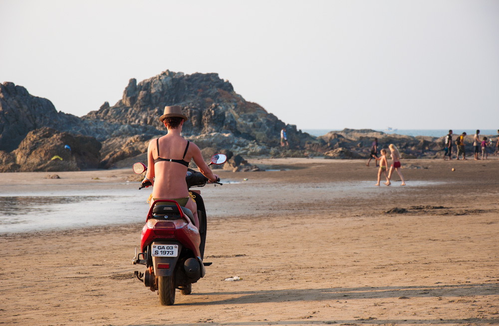 Scooter rental in Goa