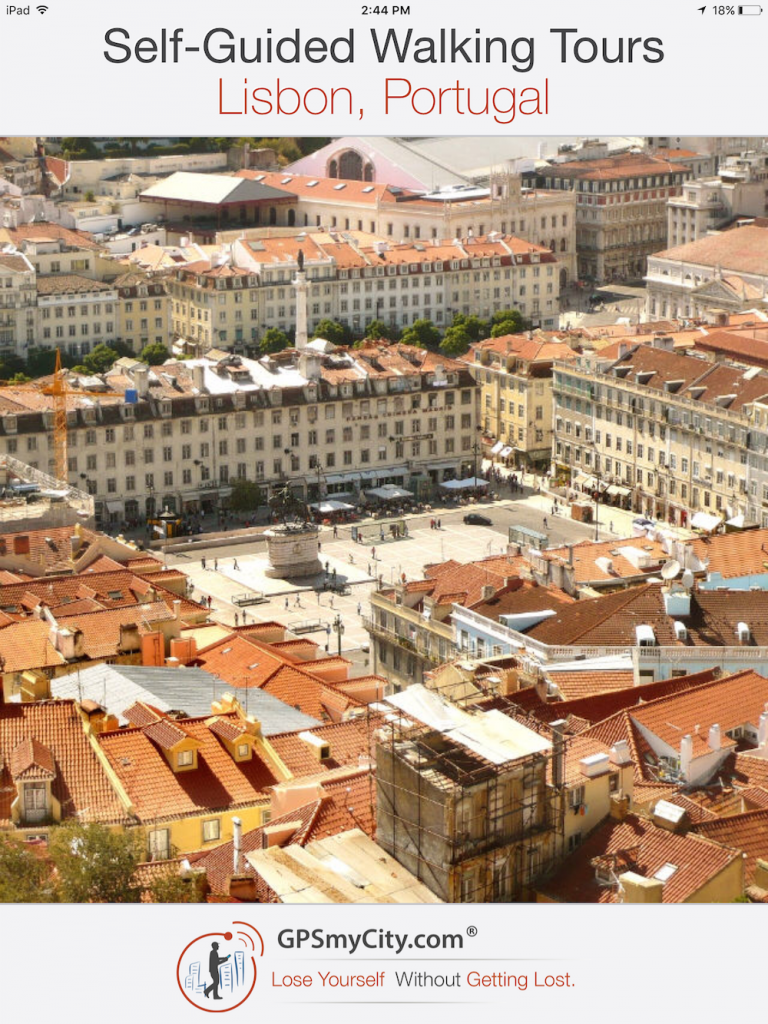 GPSmyCity self-guided walking tours of Lisbon