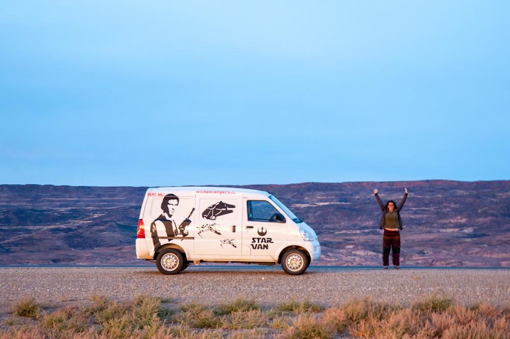 With the Star Van on Ruta 40, Argentina