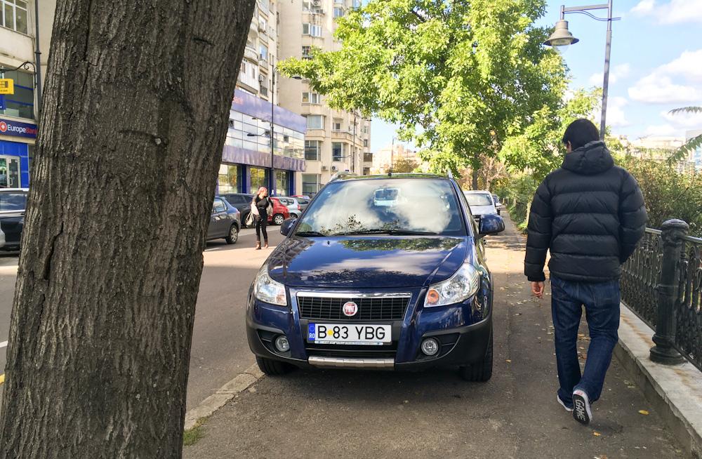 Romanian parking