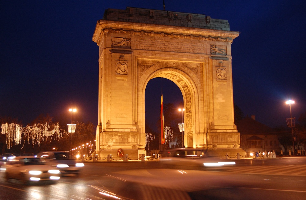 Bucharest's very own Arcul De Triumf