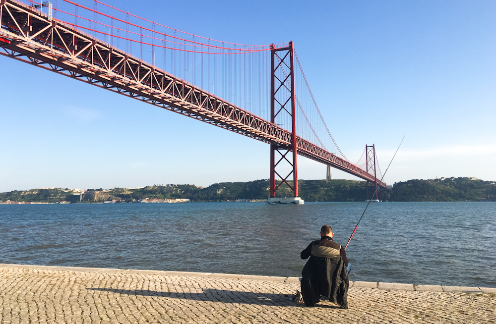 A moment of peace in Lisbon