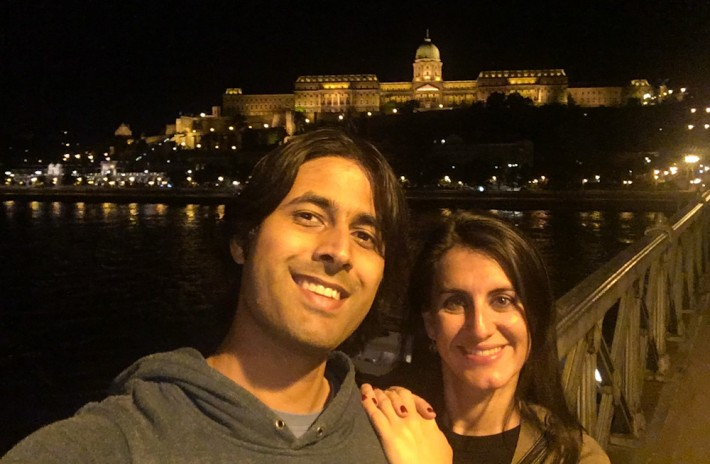 Roaming around Budapest at night
