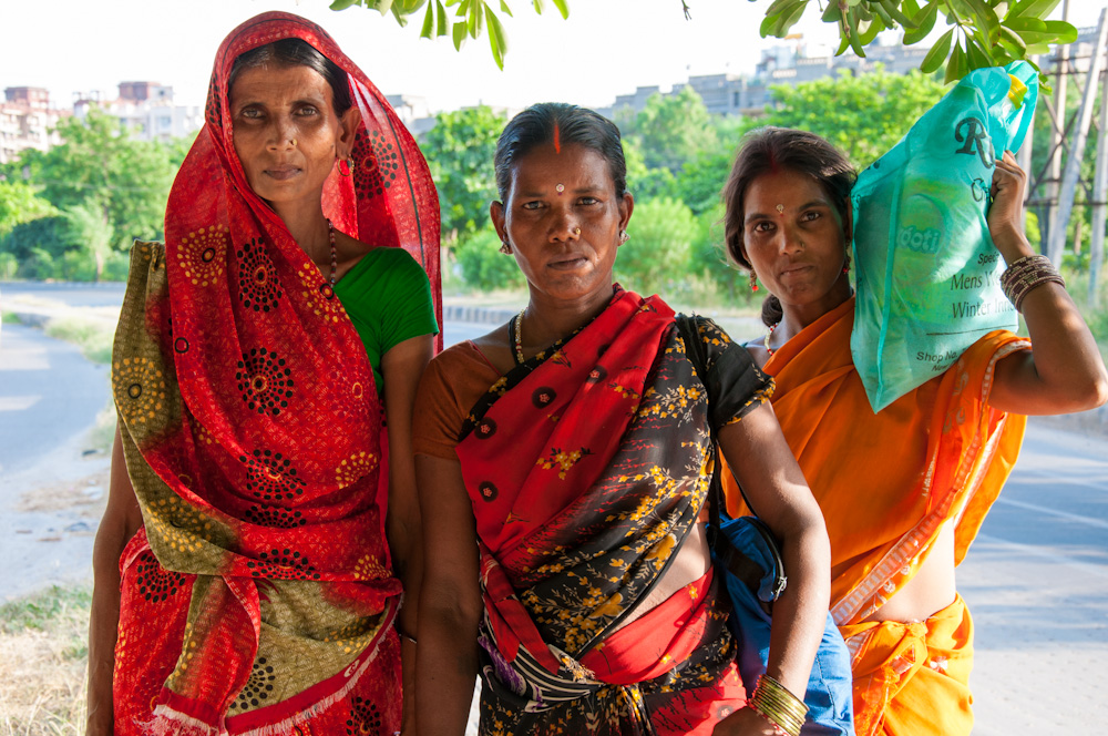 Colorful ladies of India