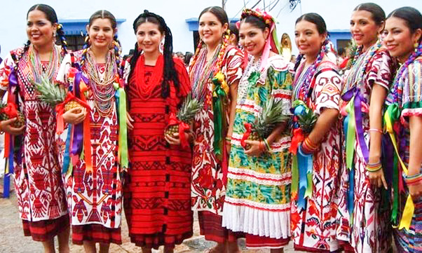 Colorful Ladies of Mexico