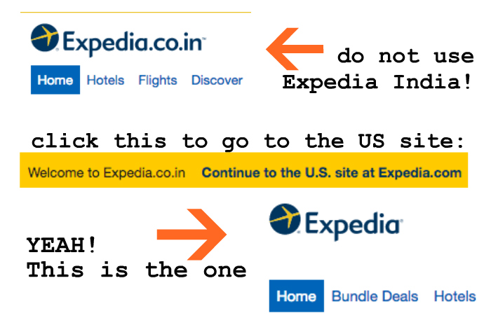 With Expedia US you can cancel your reservations for free, up to 24 hours!