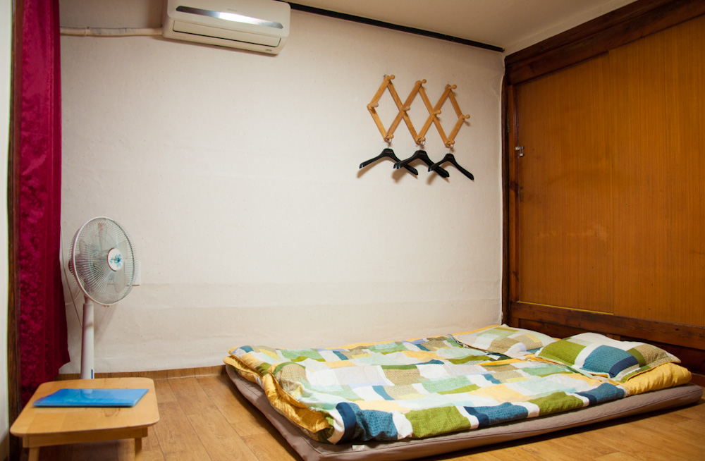 Our double room at Raon's Guesthouse