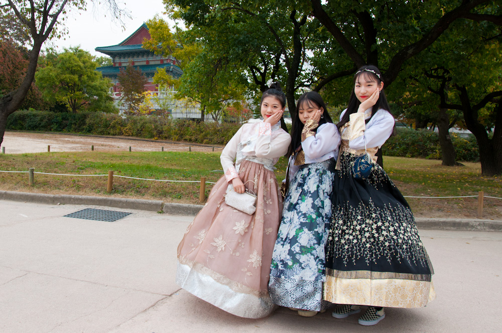 Traditional vibes at Gyeongbok Palace