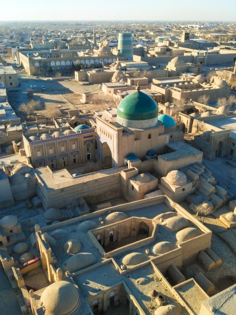Khiva in Uzbekistan.