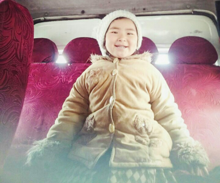 The main mode of transport in Kyrgyzstan is the shared van (aka Marshutka). And this little Kyrgyzs girl is surely the cutest and friendliest travel companion you could possibly have.