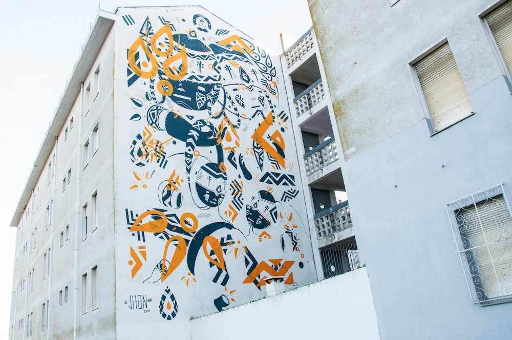 Graffiti by Jhon Douglas in Marvila