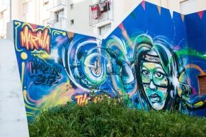 Best street art in Marvila neighborhood Lisbon