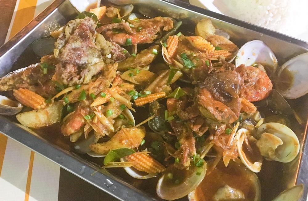 Seafood Platter at D UsMa Sitimilee ShelloUt, Batu Ferringhi