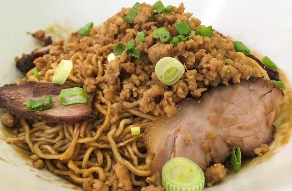 Dark Soy Sauce Sarawak Noodles at Face to Face, Penang