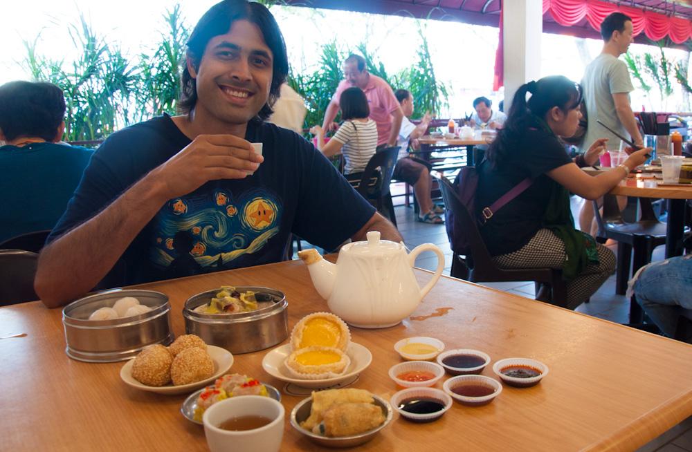 Dim Sum breakfast at Zim Sum
