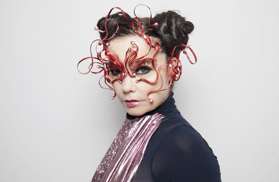 Bjork, one of the most famous Icelandic musicians
