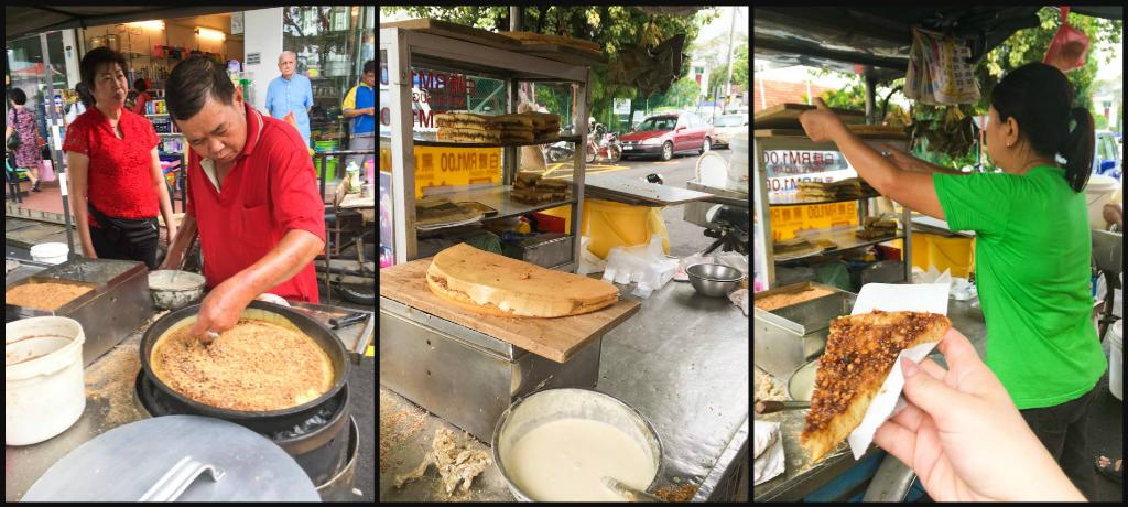 Ban Chien Kueh, Chinese Peanut Pancake