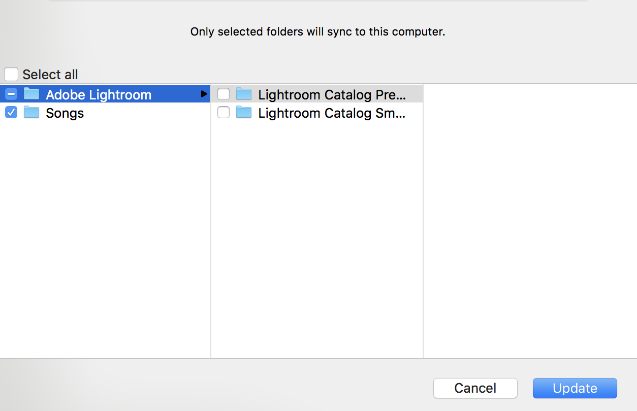 Sync Lightroom Catalogs using the cloud | Backpack Me