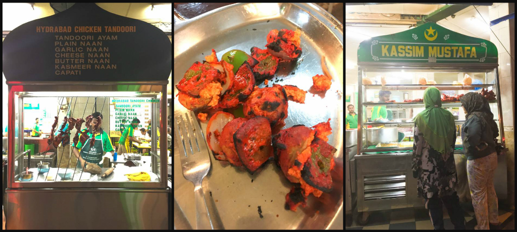 Tandoori Kebabs at Kassim Mustafa in Georgetown