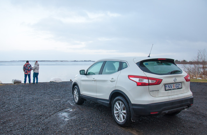 Our can rental in Iceland