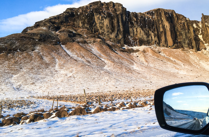 Don't forget to pack your phone's charging cable for your Icelandic road-trip