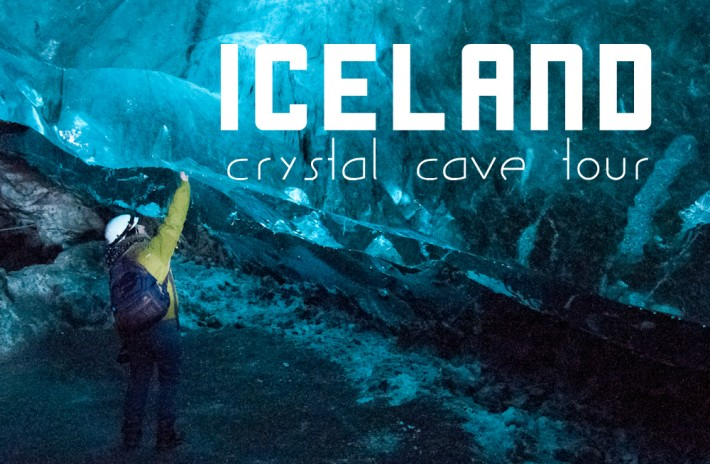 Visiting the Crystal Cave in Iceland with Glacier Journey