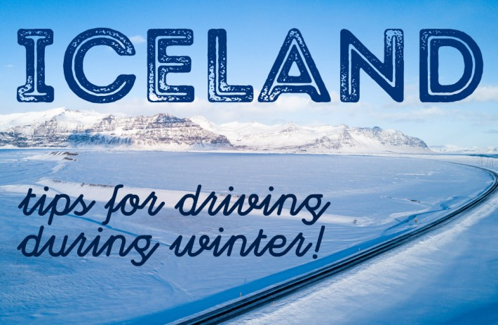Tips for driving in Iceland in winter